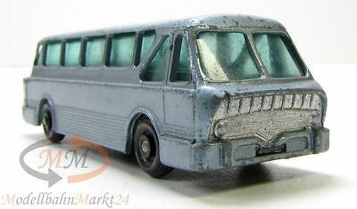 MATCHBOX Series No. 40 Leyland Bus Royal Tiger Coach hellblau Scale ca. 1:145