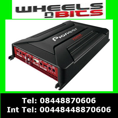 Pioneer GM-A6604 760Watt 4 Channel car amplifier 4/3/2 Speakers & Subwoofer Amp