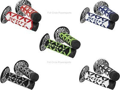 Scott USA Diamond Hand Grips Twist Throttle Replacement Dirt Bike Motocross MX