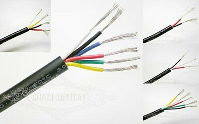 New Flexible 2~6 Multicore Cable Points & Signal Small Power Data AUTO CAR Wire