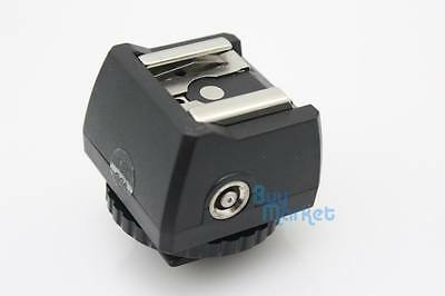 JJC hot shoe adapter for PC female outlets shoe mount / flash speedlight