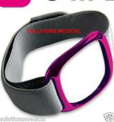Bodymedia Fit Accessories Armband Strap Grey With Pink Retainer (L)