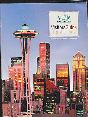 Seattle Washington Visitors Guide 1998-1999 Space Needle