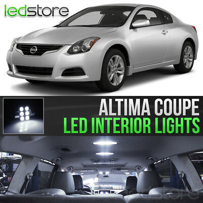 For 2013 2018 Nissan Altima White Led Interior Light Replacement