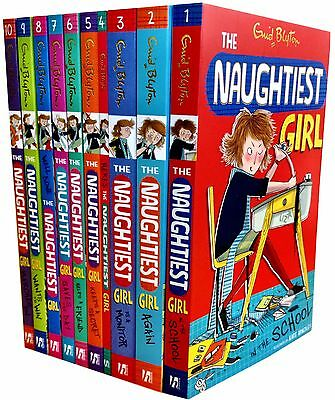 Enid Blyton The Naughtiest Girl Collection 10 Books Set Childrens Gift Pack