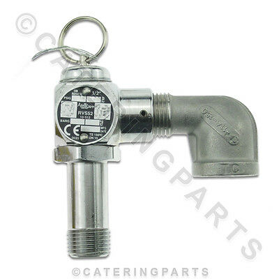 Hp16928 Henny Penny Chicken Fryer Parts - Safety Air Relief Pressure Valve 16928