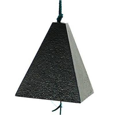 Japanese Nambu Cast Iron Black Pyramid shape Bell Furin Wind Chime, Made Japan