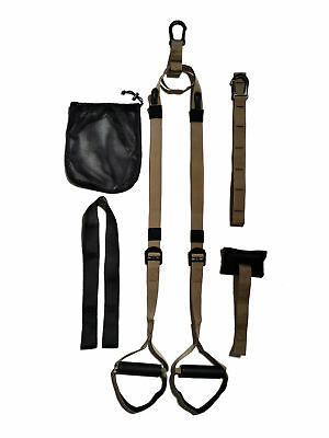 Military Tactical Suspension Trainer Schlingen Trainer - Ganzkörper Fitness