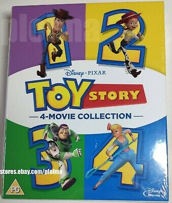 TOY STORY TRILOGY 1 2 3 BRAND NEW Collection BLU-RAY BOX SET DISNEY PIXAR 1-3