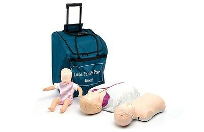 New CPR/AED Laerdal Little Manikins Family Pack- Light Skin 020080