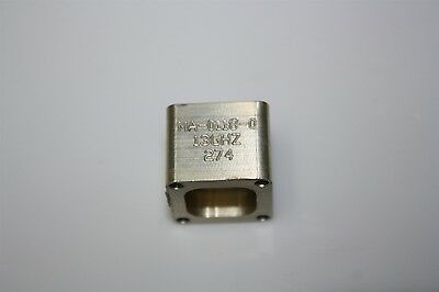 RF Microwave Waveguide WR75 Flange Adapter Rectangular to Circular 13GHz