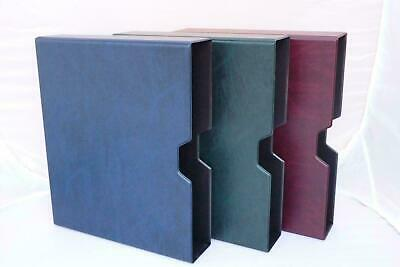 Slipcase For The Large Guardian Postcard Album - Red Green Blue