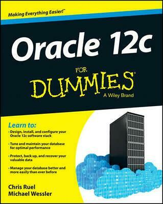 Oracle 12c for Dummies by Chris Ruel (English) Paperback Book Free Shipping!