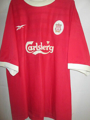 """Home Liverpool 1998-2000 Football Shirt Size 46""""-48"""" mans chest ynwa /16139"""