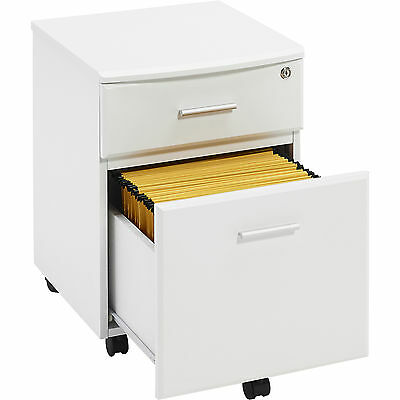 Two Drawer A4 Suspension Filing Pedestal for Home Office - Piranha Blenny PC 10s