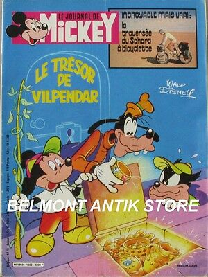 Le journal de Mickey n°1602 du 13  mars 1983 - Construction du Queen Bee avion