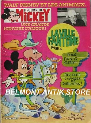 Le journal de Mickey n°1605 du 3 avril 1983 - Pinocchio - Walt Disney - Playmo