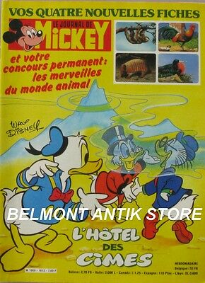 Le journal de Mickey n°1612 du 22 mai 1983 - Guy L'Eclair - Pub Coca - Hagar Dun