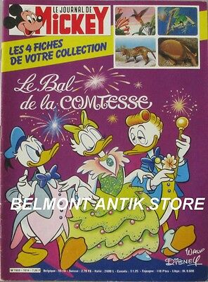 Le journal de Mickey n°1614 du 5 juin 1983 - L'escalade d' un arbre - Grand loup