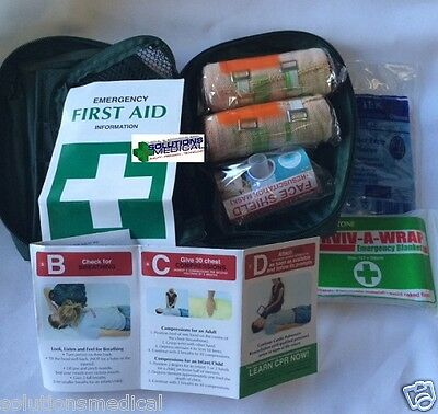 1 x SNAKE BITE FIRST AID TRAVEL KIT IN NYLON POUCH