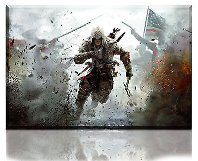 Wall Art Canvas Picture Print of Assasin Creed Framed