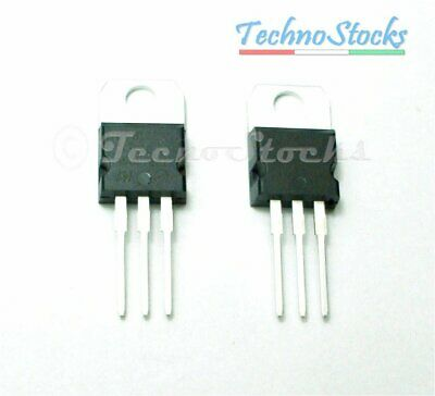2x L7805CV LM7805  Regolatore di Tensione 5 V, 1.5A - Voltage Regulator