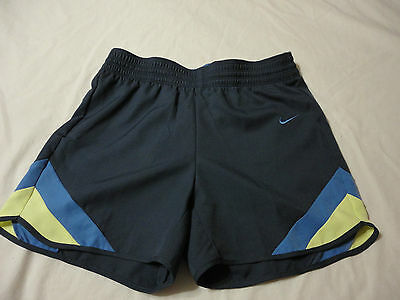 Nike Women's New Athletic Blue Training Shorts  Size Xs & Small Dri-Fit