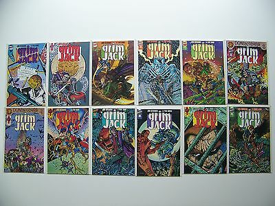 Grim Jack 12 issue LOT