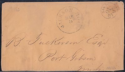 Csa #43Xu2 Entire Jackson Miss Pm Provisional Reduced @b Backflap Missing Wl4883