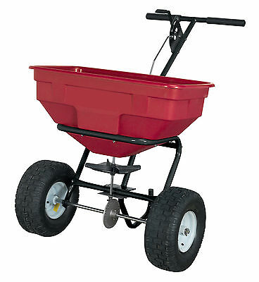 Sealey SPB57W Broadcast Spreader 57kg Walk Behind / Rock Salt - Seed - Grit