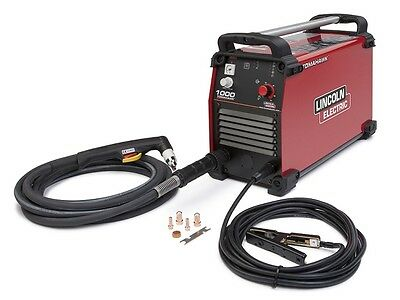 Lincoln Tomahawk 1000 Plasma Cutter W/25 FT Hand Torch (K2808-1)