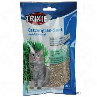 Cat Grass 100g   grass for cats, refill value pack  Indoor grass for your cat