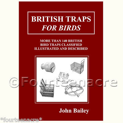 British Traps For Birds - vintage collectable old trap sparrow crow