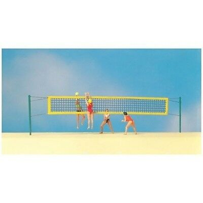 preiser 10528  volley ball and net figures 1:87