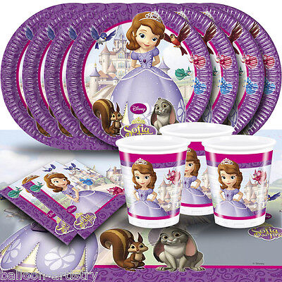 Children's Cartoon Character Tableware Decoration Birthday Party Pack Kit for 16