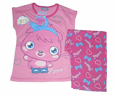 Girls Pyjamas Moshi Monsters Poppet 4-12 Years Old