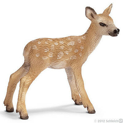 *NEW* SCHLEICH 14629 Red Deer Fawn Baby Calf - Wild Life - RETIRED