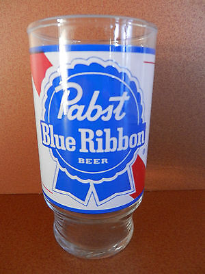 Pabst Blue Ribbon 12 oz. Beer Glass