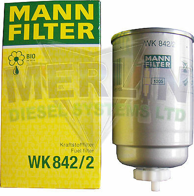 New Genuine Mann Fuel Universal Diesel Fuel Filter Wk842/2