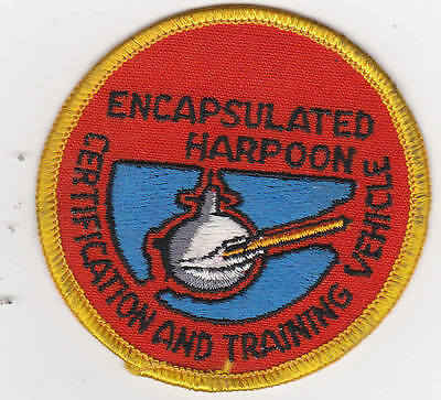 2Patches/Aufnäher ENCAPSULATED HARPOON CERTIFICATION AND TRAINING VEHICLE