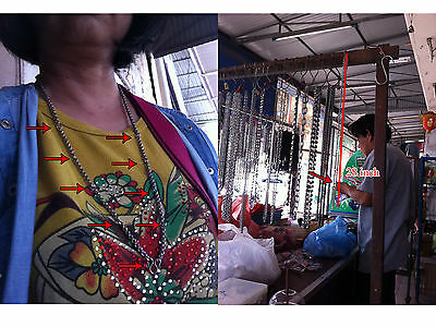 Thai Amulet Necklace Chain for 9 LP Thai Amulet Stainless Steel  28 inch