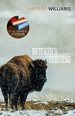Butcher's Crossing by John E Williams Paperback Book Free Shipping!