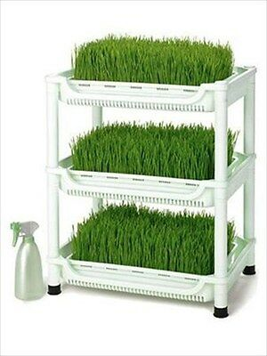 Hydroponic Wheatgrass Growing Trays- Tribest Sproutman Sm-350 Wheat Grass Grower