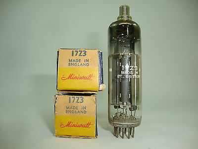 17Z3 Tube. Miniwatt Brand Tube. Old Version 1950´s. Rare To Find. Nos / Nib. C99