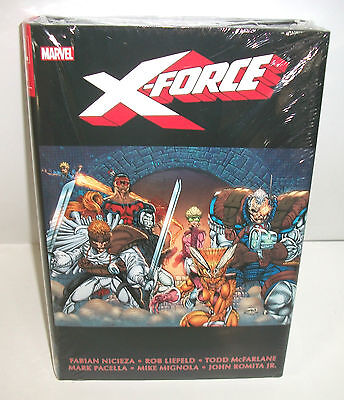X-Force Marvel Comics Omnibus Vol 1 Brand New Sealed 1st Deadpool New Mutants 98