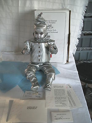 Marie Osmond Wizard of Oz baby TIn man doll mint in box