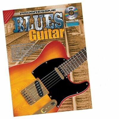 Progressive Blues Guitar Gelling Book with Free CD includes TAB New
