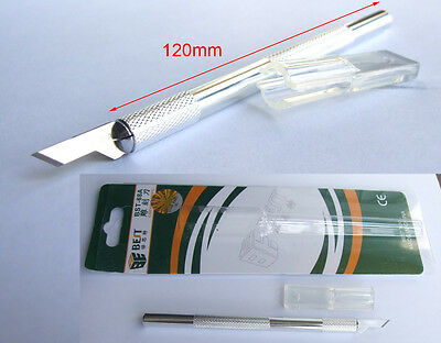 1PCS Aluminum alloy Precision Knife with Blade Precision Handle carving knife