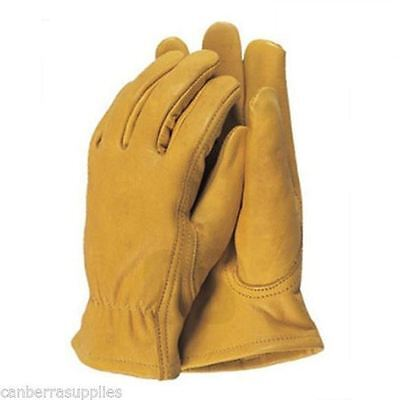 Town & Country Premium Soft Leather Gardening Garden Gloves - Large Tgl408L