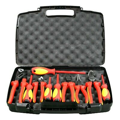 Knipex 989831US 10-Piece Insulated High Leverage Industrial Tool Set
